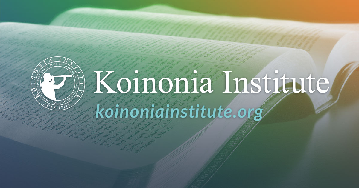 Current Course Offerings – Koinonia Institute